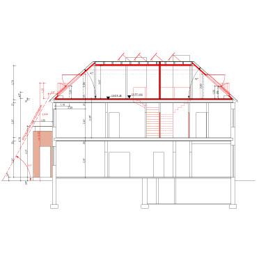 Dachgeschossausbau Hamburg umbau und dachgeschossausbau eines denkmalgeschützten doppelhauses